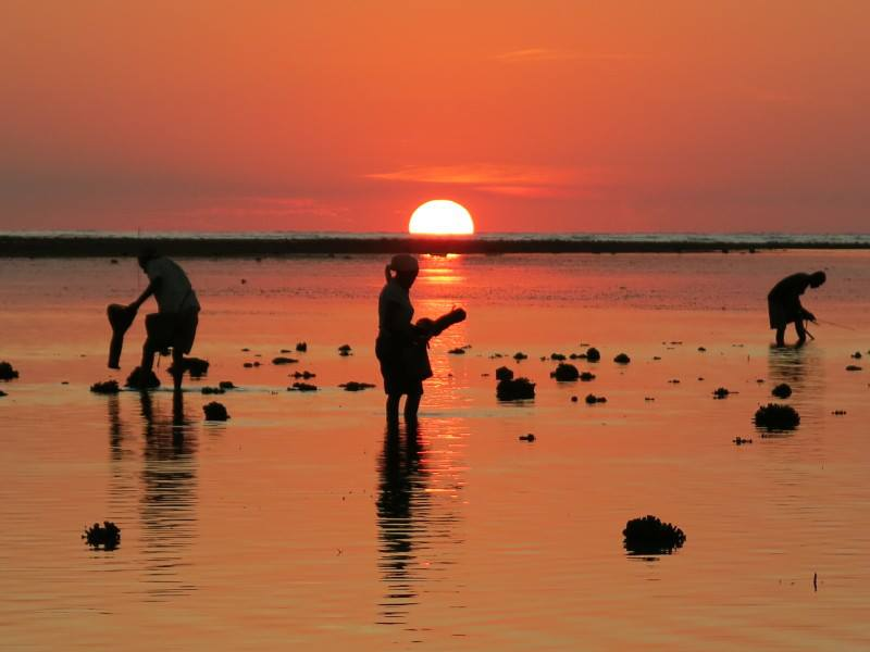 Sunset alor